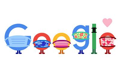 Google выпустил дудл о необходимости носить маску
