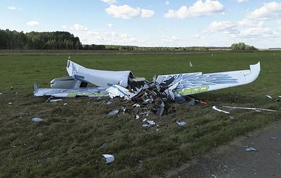 Легкомоторный самолет потерпел крушение в Калужской области