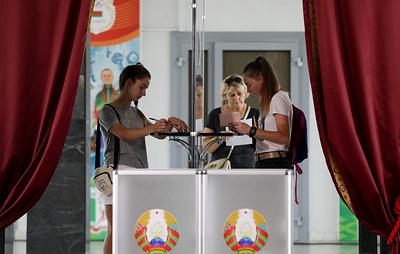 Опубликованы первые данные ЦИК Белоруссии по президентским выборам