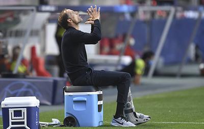 Тренер ПСЖ Тухель признал, что клуб вышел в полуфинал Лиги чемпионов не без удачи