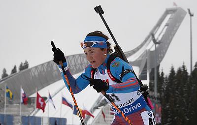 Юрлова-Перхт не сможет принять участие в летнем чемпионате России по биатлону
