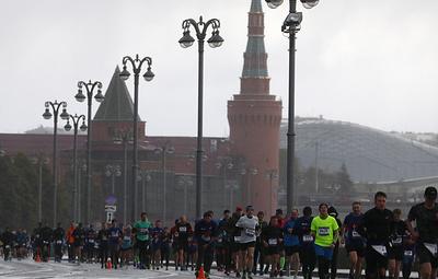 Забег в рамках Московского марафона пройдет в воскресенье