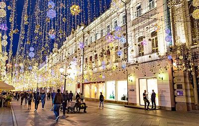 Рейтинг пять самых красивых улиц для ночных прогулок составили в Москве
