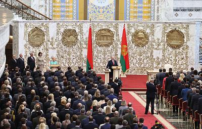 """ЕС считает инаугурацию Лукашенко """"не имеющими достаточной демократической легитимности"""""""