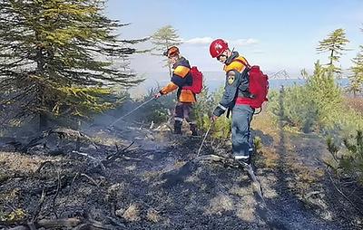 В Магадане и Хасынском районе ввели режим ЧС в границах лесов из-за пожаров
