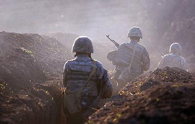 В Армении заявили, что ВС Азербайджана начали наступление в Карабахе