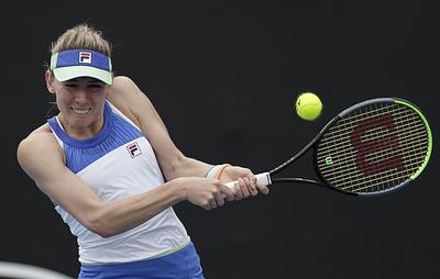 Россиянка Александрова вышла во второй круг Roland Garros