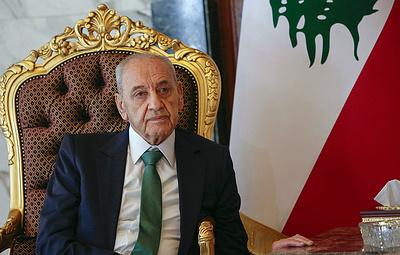 Спикер парламента Ливана объявил о рамочном соглашении с Израилем по демаркации границы