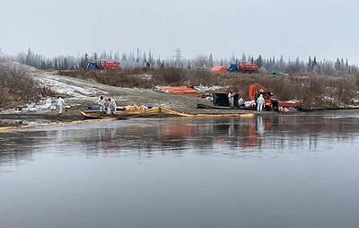 В НАО возбудили уголовное дело после разлива нефтепродуктов на Харьягинском месторождении