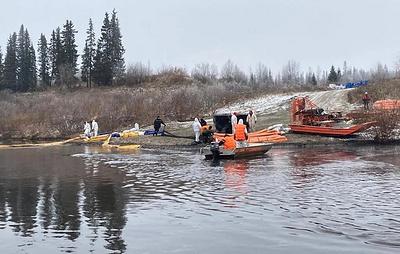 Режим ЧС ввели в части Заполярного района НАО из-за разлива нефтепродуктов