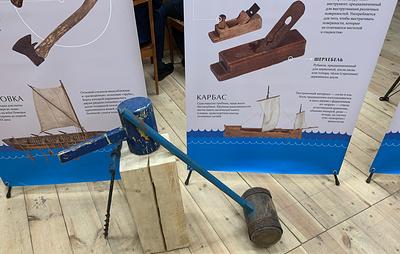 Выставка традиционных поморских инструментов для судостроения открылась в Архангельске
