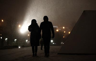 Регионам Центральной России обещают снегопады и ночные морозы