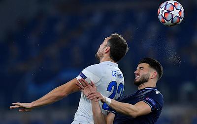 """""""Зенит"""" проиграл """"Лацио"""" и потерял шансы на выход в плей-офф Лиги чемпионов"""