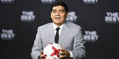 Футбольный бог Аргентины. Диего Марадона на поле и вне его
