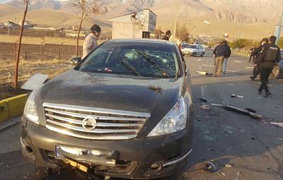 В Тегеране убили иранского физика-ядерщика