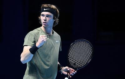Рублев номинирован на премию ATP самому прогрессирующему теннисисту года