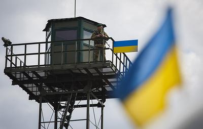 Украинские пограничники заявили, что не выявили фактов нарушения границы с Россией