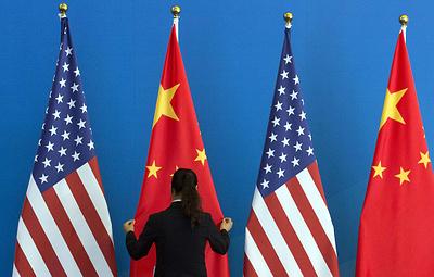 США вводят визовые ограничения в отношении ряда должностных лиц Китая
