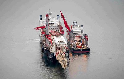 Прокладку Северного потока - 2 в водах Дании возобновят 15 января