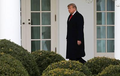 Reuters: Трамп намерен покинуть Вашингтон утром 20 января до инаугурации Байдена
