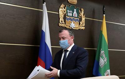 Врио главы Екатеринбурга Орлов подал документы на конкурс на должность главы города