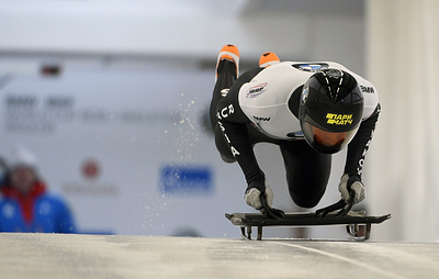 Третьяков занял третье место на этапе Кубка мира по скелетону в Кёнигзее
