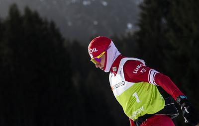 Александр Большунов отказался общаться с прессой после спринта на чемпионате мира