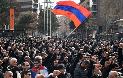 Внутриполитический кризис в Армении. Предпосылки и развитие