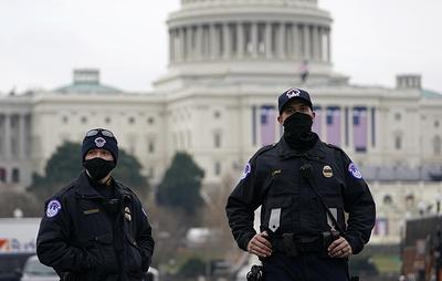 CNN: штат полиции Капитолия предлагается увеличить на 1 тыс. человек