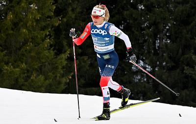 Норвежская лыжница Йохауг выиграла скиатлон на чемпионате мира