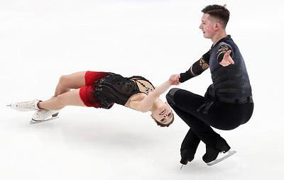 Фигуристы Мишина и Гяллямов лидируют после короткой программы в финале Кубка России