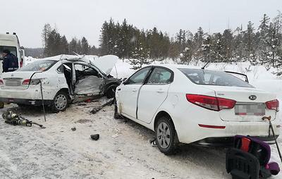 В Югре два человека погибли в результате ДТП на трассе