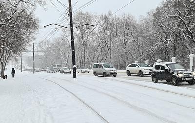 Дорогу из Хабаровска до Бикина закрыли для автобусов из-за циклона