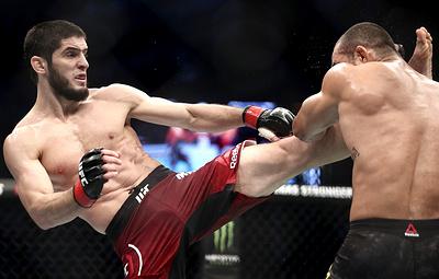UFC готов организовать бой Махачев - Фергюсон