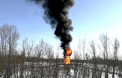 Росрыболовство начало расследование аварии на трубопроводе на реке Оби в Югре