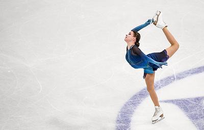 Щербакова выиграла короткую программу на командном чемпионате мира