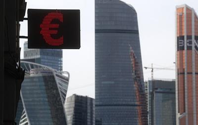 Курс евро опустился ниже 89 рублей впервые с 1 апреля