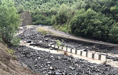 В Дагестане после разрушения двух мостов прервано сообщение с тремя населенными пунктами