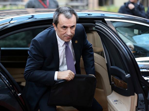Bulgarian Prime Minister Plamen Oresharski