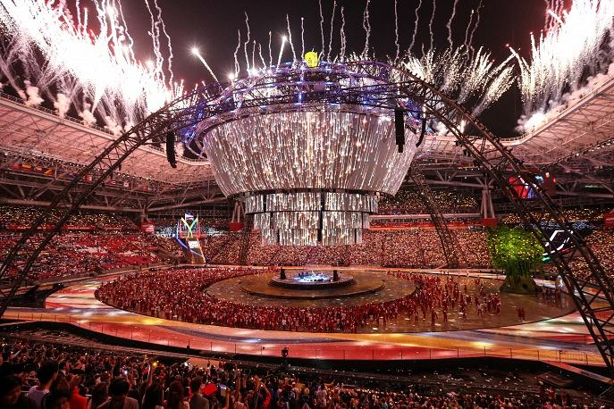 Closing ceremony of XXVII summer Universiade in Kazan