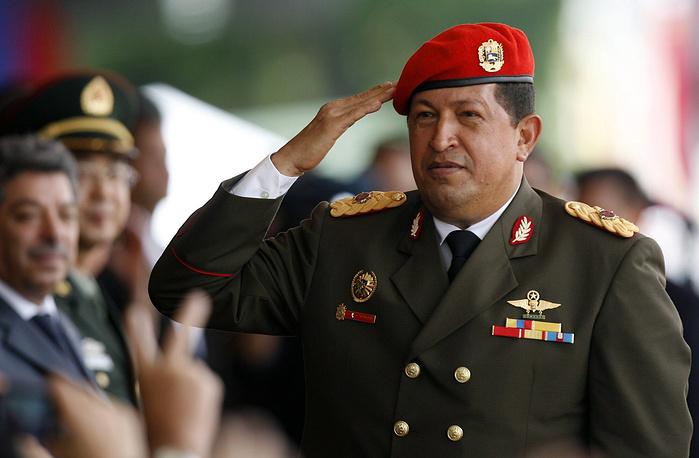 March 5. Venezuelan President Hugo Chavez (58) passes away