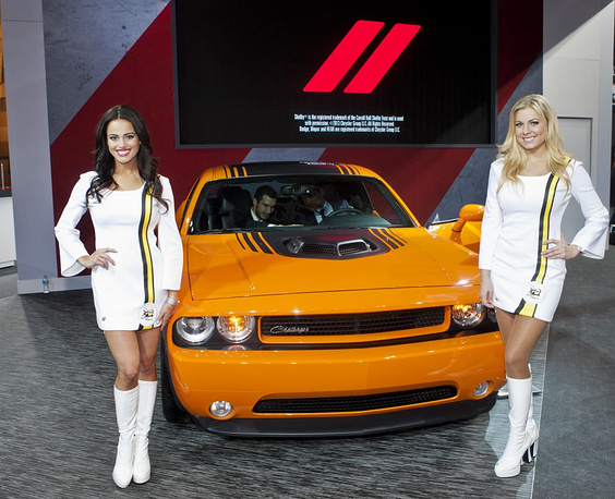 Dodge Challenger Hemi Shaker presentation