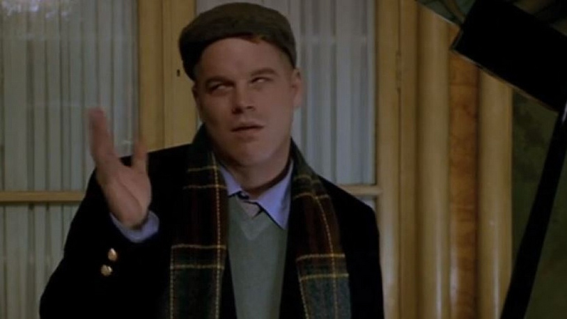 """Hoffman starring in Anthony Minghella's """"The Talented Mr. Ripley"""