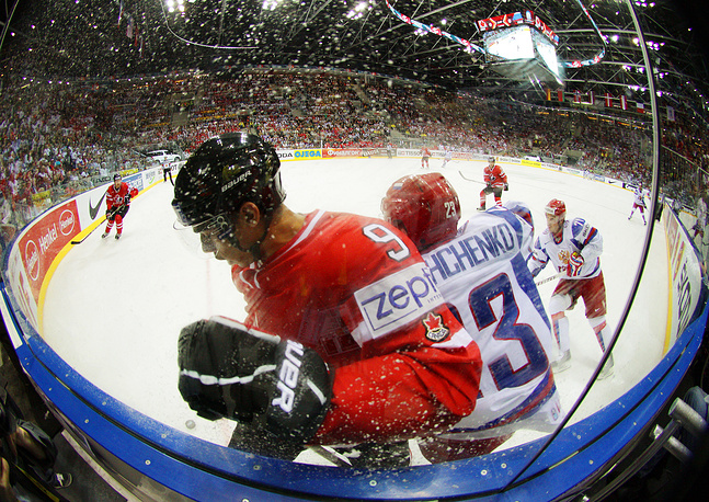 The competition between Russia and Canada is what has always kept the heat up for ice hockey lovers all over the world