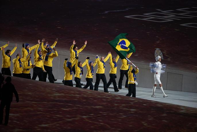 Brasilian olympic team