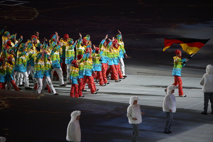 German olympic team