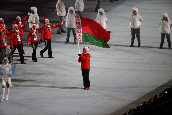 Belorussian olympic team