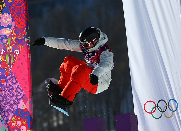 Winter Olympics in Sochi are the first for Slopestyle as an Olympic event
