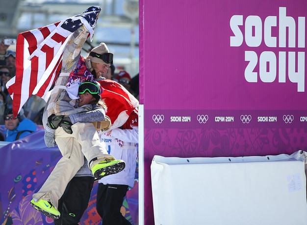 US snowboarder Sage Kotsenburg Saturday won the first gold medal of Sochi 2014