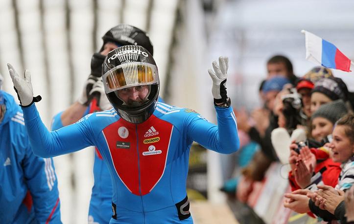Russian bobsledder Alexander Zubkov